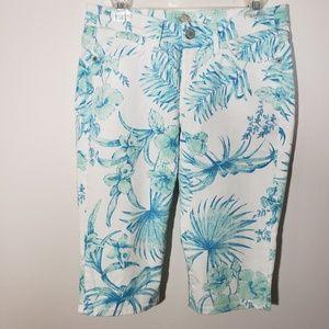 Tommy Bahama Denim Capri Pants size 28